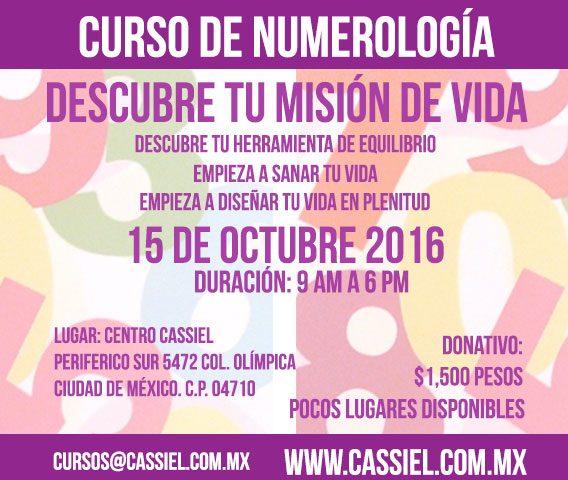 curso numerologia centro cassiel octubre 2016